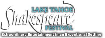 Lake Tahoe Shakespeare Festival Logo - Extraordinary Entertainment in an Exceptional Setting