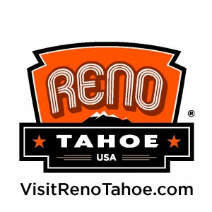 RenoTahoeLogoBadge_CMYK_Orange_VisitRenoTahoe_REV